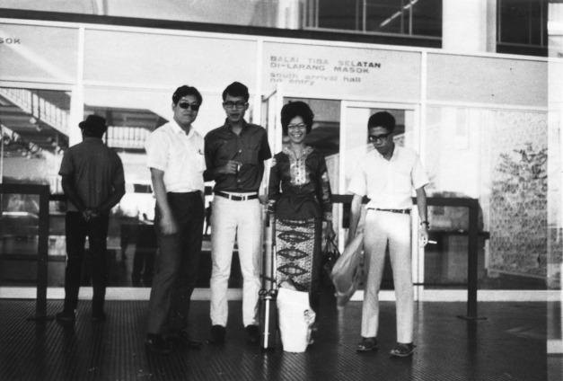 20. 1970 – Subang Airport, balai ketibaan selatan