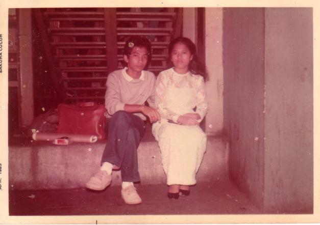 31. 1986 – Gambar 'couple' di Stesen Bas Pudu