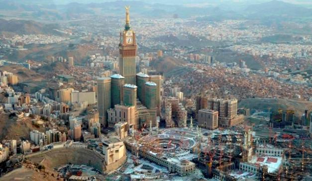 Gedung Paling Tinggi di Dunia - Abraj Al-Bait