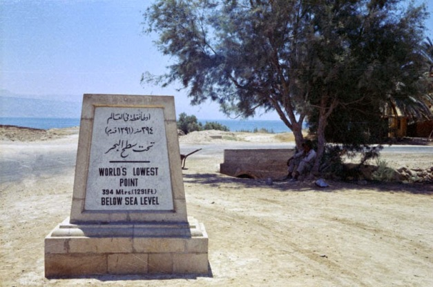 Laut Mati merupakan tempat terendah di dunia