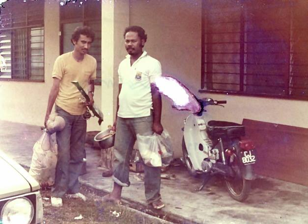 RUMAH GURU SEK KEB KUALA KRAU.1980