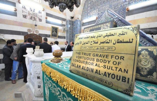 makam salahuddin al ayubi